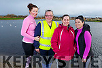 Liz and Noreen Broderick (Brosna), Marina Holden (Tralee) and Mary Ann Coffey (Tralee) ready for a stroll at the Tralee Bay Wetlands on Saturday.