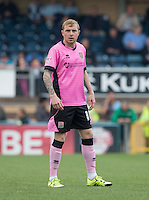 Nicky Adams of Northampton Town during the Sky Bet League 2 match between Wycombe Wanderers and Northampton Town at Adams Park, High Wycombe, England on 3 October 2015. Photo by Andy Rowland.