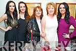 Celebrating Women's Christmas at Cassidys restaurant, Tralee, on Monday night were l-r: Ellen Griffin, Holly Lynch and Anne Lynch (Tralee) with Mary Griffin (Castlegregory) and Kelly Ann Lynch (Tralee).