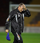 Terry Butcher feels the pain of extra-time defeat