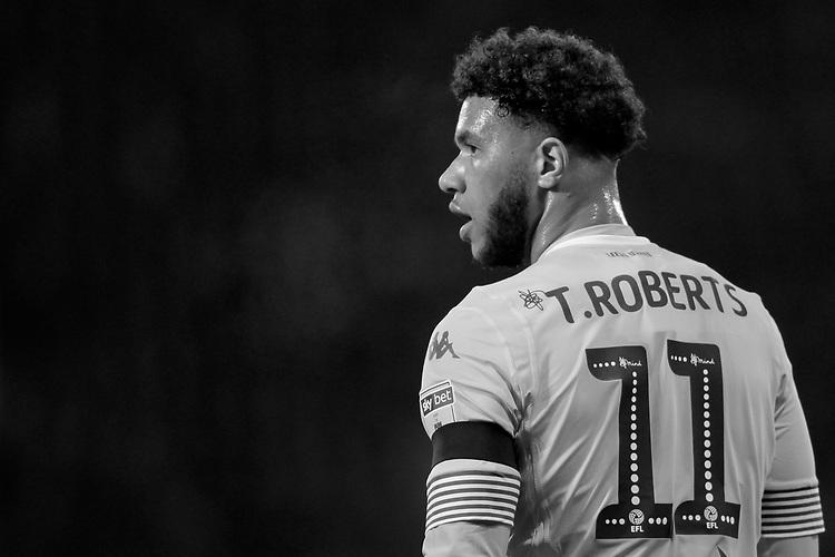Leeds United's Tyler Roberts in action<br /> <br /> Photographer David Shipman/CameraSport<br /> <br /> The EFL Sky Bet Championship - West Bromwich Albion v Leeds United - Saturday 10th November 2018 - The Hawthorns - West Bromwich<br /> <br /> World Copyright © 2018 CameraSport. All rights reserved. 43 Linden Ave. Countesthorpe. Leicester. England. LE8 5PG - Tel: +44 (0) 116 277 4147 - admin@camerasport.com - www.camerasport.com
