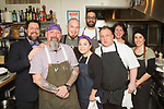 New York, NY - March 9, 2018: The Buzz of the Berkshires, a dinner featuring chefs Brian Alberg, Laurel Barkan, Adam Brassard, Max Kiperman and Ron Rueda presented at the James Beard House in Greenwich Village.<br /> <br /> CREDIT: Clay Williams for The James Beard Foundation.<br /> <br /> &copy; Clay Williams / http://claywilliamsphoto.com