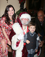 LOS ANGELES - DEC 16:  Heather Tom, Zane Achor, James Achor at the Heather Tom, James Achor, Zane Achor Christmas Party at their private residence on December 16, 2017 in Glendale, CA