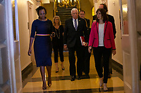 United States House Majority Leader Steny Hoyer (Democrat of Maryland) arrives to the Democratic Caucus on Capitol Hill in Washington D.C., U.S. on June 11, 2019.<br />  <br /> Credit: Stefani Reynolds / CNP/AdMedia