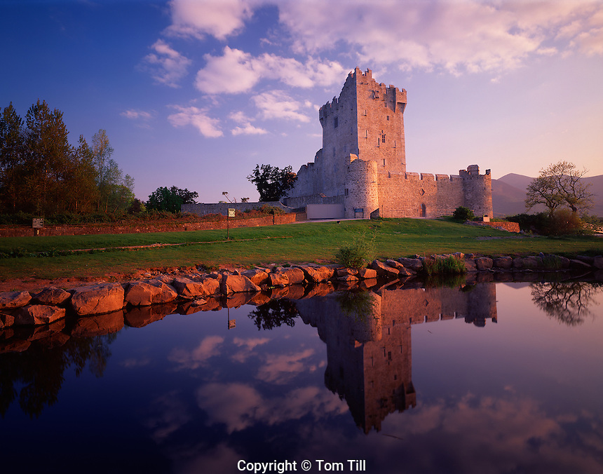 Ross Castle, Killarney National Park, Republic of Ireland    14th Century Castle on Lough Leane County Kerry