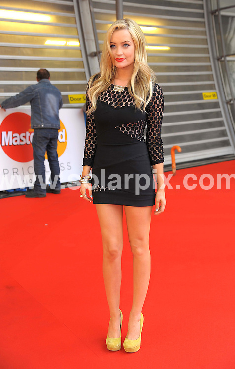 **ALL ROUND PICTURES FROM SOLARPIX.COM**                                             **WORLDWIDE SYNDICATION RIGHTS**                                                                                  Stars arrive at London's O2 Arena for the 2012 Brit Awards..This pic:   Laura Whitmore                                                                                     JOB REF:    14495   MSR     DATE:   22.02.12                                                         **MUST CREDIT SOLARPIX.COM OR DOUBLE FEE WILL BE CHARGED**                                                                      **MUST AGREE FEE BEFORE ONLINE USAGE**                               **CALL US ON: +34 952 811 768 or LOW RATE FROM UK 0844 617 7637**
