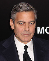 "NEW YORK, NY - FEBRUARY 04: George Clooney at the New York Premiere Of Columbia Pictures' ""The Monuments Men"" held at Ziegfeld Theater on February 4, 2014 in New York City, New York. (Photo by Jeffery Duran/Celebrity Monitor)"
