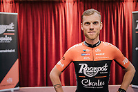 Lars Boom (NED/Roompot-Charles) presenting his new outfit to the world<br /> <br /> Roompot–Charles Cycling Team<br /> <br /> Team presentation <br /> The Netherlands / nov 2018