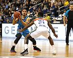 19.03.2019, Mercedes Benz Arena, Berlin, GER, EuroLeague/EuroCup, ALBA ERLIN vs.  MoraBanc Andorra, <br /> im Bild Peyton Siva (ALBA Berlin #3), Dylan Ennis (Andorra #31)<br /> <br />      <br /> Foto © nordphoto / Engler