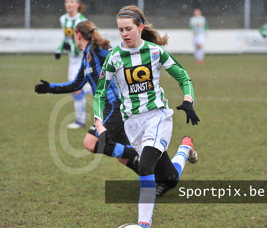 Club Brugge Dames - PEC Zwolle : Marianne van Brummelen .foto DAVID CATRY / Vrouwenteam.be