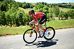 Tom Dumoulin (NED) Team Sunweb in action during Stage 5 of the Criterium du Dauphine 2019, running 201km from Boen-sur-Lignon to Voiron, France. 13th June 2019.<br /> Picture: ASO/Alex Broadway | Cyclefile<br /> All photos usage must carry mandatory copyright credit (© Cyclefile | ASO/Alex Broadway)
