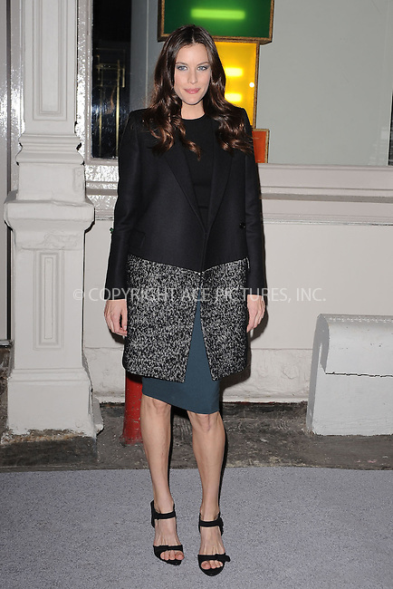 WWW.ACEPIXS.COM . . . . . .January 9, 2012...New York City....Liv Tyler attends the Stella McCartney Soho Store opening on January 9, 2012 in New York City .....Please byline: KRISTIN CALLAHAN - ACEPIXS.COM.. . . . . . ..Ace Pictures, Inc: ..tel: (212) 243 8787 or (646) 769 0430..e-mail: info@acepixs.com..web: http://www.acepixs.com .