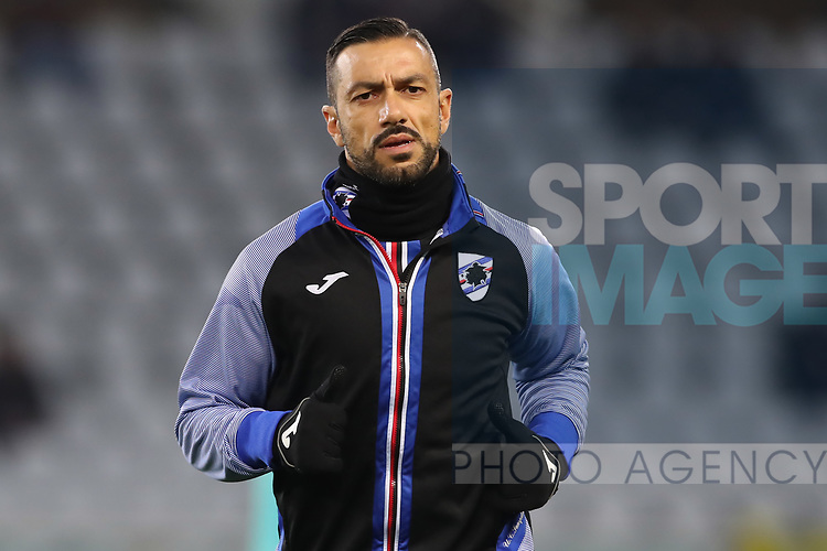 Fabio Quagliarella of Sampdoria during the Serie A match at Stadio Grande Torino, Turin. Picture date: 8th February 2020. Picture credit should read: Jonathan Moscrop/Sportimage