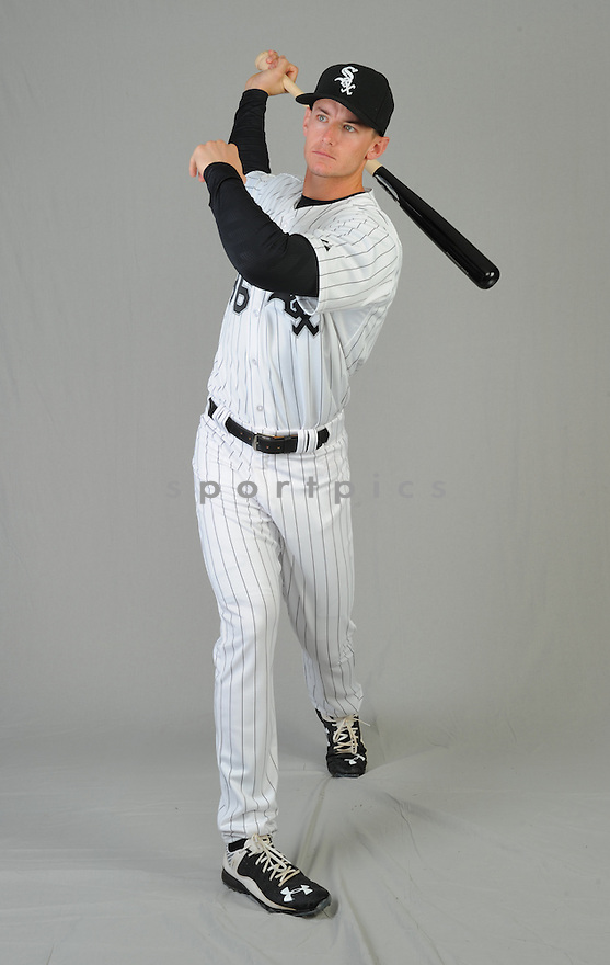 Chicago White Sox Rob Brantly (36) during photo day on February 28, 2015 in Glendale, AZ.