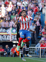 Atletico de Madrid's Raul Garcia during La Liga match.April 14,2013. (ALTERPHOTOS/Acero)
