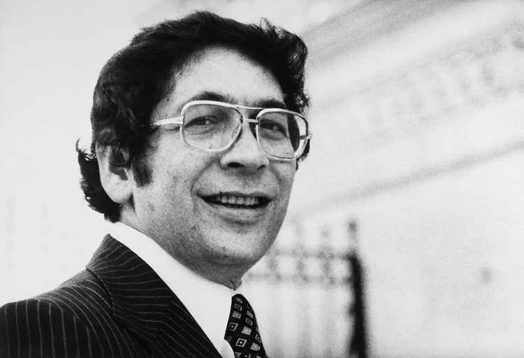 Rep. Theodore S. Weiss, D-N.Y., in 1985. (Photo by CQ Roll Call)