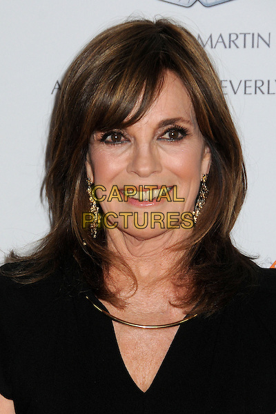 Linda Gray.20th Annual Race To Erase MS Gala held at the Hyatt Regency Century Plaza Hotel, Century City, California, USA, 3rd May 2013..portrait headshot  black necklace smiling gold earrings .CAP/ADM/BP.©Byron Purvis/AdMedia/Capital Pictures