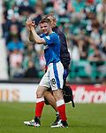 13.05.2018 Hibs v Rangers: Jordan Rossiter off injured