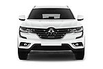Car photography straight front view of a 2017 Renault Koleos Zen 5 Door SUV