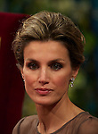 Princess Letizia of Spain attends the 'Prince of Asturias Awards 2010' ceremony at the Campoamor Theater on October 21, 2011 in Oviedo, Spain..Photo: Billy Chappel / Pool / ALFAQUI
