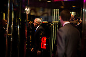 Mike Pence leaves Trump Tower in Manhattan, New York, New York, USA on Wednesday, December 7, 2016. <br /> Credit: John Taggart / Pool via CNP