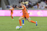 Houston, TX - Sunday Sept. 25, 2016: Denise O'Sullivan during a regular season National Women's Soccer League (NWSL) match between the Houston Dash and the Seattle Reign FC at BBVA Compass Stadium.