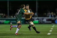 Ollie Stedman of Ealing Trailfinders during the Greene King IPA Championship match between Ealing Trailfinders and London Irish Rugby Football Club  at Castle Bar, West Ealing, England  on 1 September 2018. Photo by David Horn.