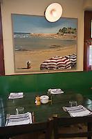 """Europe/France/Aquitaine/64/Pyrénées-Atlantiques/Pays Basque/ Bidart: Salle du restaurant """"La Cucaracha"""""""