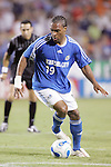 Oct 05 2007:  Scott Sealy (19) of the Wizards.  The MLS Kansas City Wizards tied the visiting D.C.United 1-1 at Arrowhead Stadium in Kansas City, Missouri, in a regular season league soccer match.