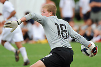 USA goalkeeper Jonathan Kempin (18). The US U-17 Men's National Team defeated the Development Academy Select Team 5-3 during day two of the US Soccer Development Academy  Spring Showcase in Sarasota, FL, on May 23, 2009.