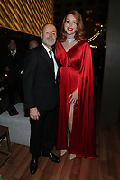 """ABC, DISNEY TV STUDIOS, FX, HULU, & NATIONAL GEOGRAPHIC 2019 EMMY AWARDS NOMINEE PARTY: Chairman, FX Networks and FX Productions John Landgraf and Our Lady J attend the """"ABC, Disney TV Studios, FX, Hulu & National Geographic 2019 Emmy Awards Nominee Party"""" at Otium on September 22, 2019 in Los Angeles, California. (Photo by PictureGroup/Walt Disney Television)"""
