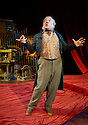 Simon Callow performing Dr Marigold by Charles Dickens. Part of a double bill of Charles Dickens one man plays Dr Marigold and Mr Chops. Opens at The Riverside Studios on 15/12/09. Credit Geraint Lewis