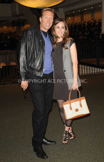 WWW.ACEPIXS.COM . . . . . ....April 12 2011, Los Angeles....Actors Walt Willey (L) and Christina Bennett Lind at a signing for Susan Lucci's book 'All My Life' at Barnes & Noble at The Americana on April 12, 2011 in Glendale, CA ....Please byline: PETER WEST - ACEPIXS.COM....Ace Pictures, Inc:  ..(212) 243-8787 or (646) 679 0430..e-mail: picturedesk@acepixs.com..web: http://www.acepixs.com