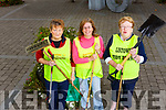 "Aoife McCauliffe, Collette Foran and Breda McGrath members of the Listowel Tidy Town ""Dawn Chorus"" group who were out every morning in keeping the town clean."