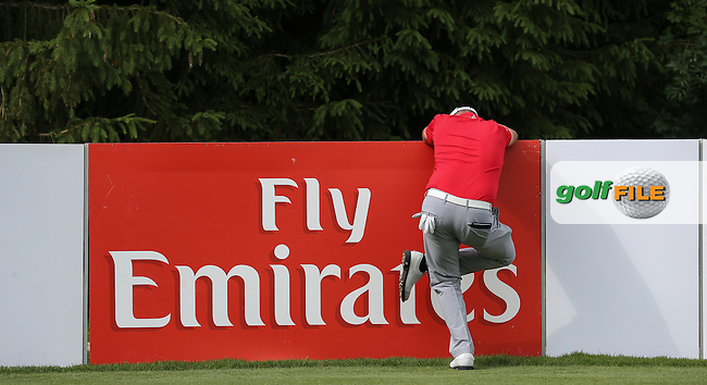 No pain or pressure. James Morrison (ENG) sets a 2-shot lead over the field with a 67 during Round Three of the 2015 BMW International Open at Golfclub Munchen Eichenried, Eichenried, Munich, Germany. 27/06/2015. Picture David Lloyd | www.golffile.ie