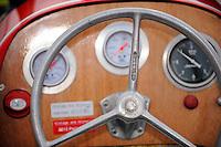 """Detail: Steering Wheel. Y-4 """"Playtime"""" (48 c.i. hydroplane)"""