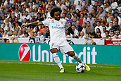 13th September 2017, Santiago Bernabeu, Madrid, Spain; UCL Champions League football, Real Madrid versus Apoel; Marcelo Viera da Silva (12) Real Madrid