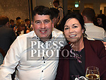 Nicky and Ann Sullivan at the Naomh Mairtin reunion in the Monasterboice Inn. Photo:Colin Bell/pressphotos.ie