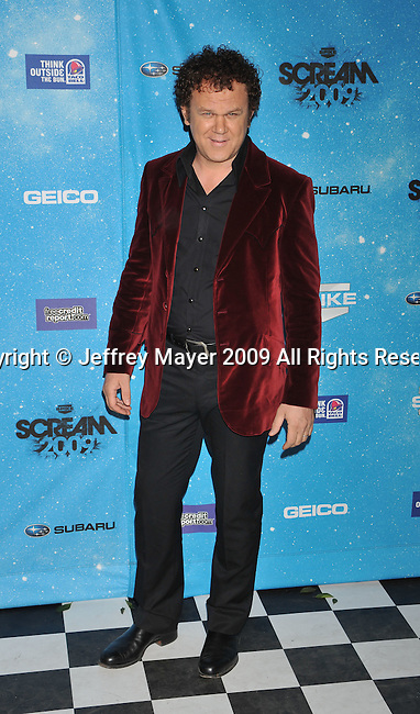 LOS ANGELES, CA. - October 17: John C. Reilly arrives at Spike TV's Scream 2009 held at the Greek Theatre on October 17, 2009 in Los Angeles, California.