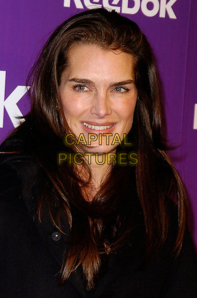 "BROOKE SHEILDS.At the Reebok 25th anniversary celebration of ""The Freestyle"" at Culture Club, New York, New York, USA,.21 February 2007..portrait headshot.CAP/ADM/BL.©Bill Lyons/AdMedia/Capital Pictures. *** Local Caption ***"