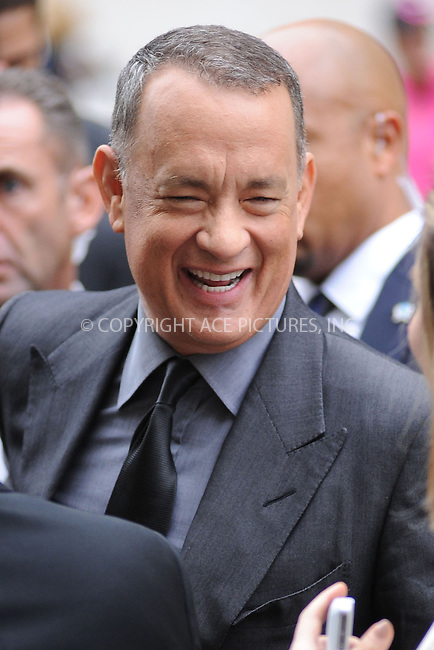 WWW.ACEPIXS.COM<br /> September 27, 2013 New York City<br /> <br /> Tom Hanks attending the opening night gala world premiere of 'Captain Phillips' during the 51st New York Film Festival at Alice Tully Hall at Lincoln Center on September 27, 2013 in New York City. <br /> <br /> By Line: Kristin Callahan/ACE Pictures<br /> <br /> ACE Pictures, Inc.<br /> tel: 646 769 0430<br /> Email: info@acepixs.com<br /> www.acepixs.com<br /> <br /> Copyright: Kristin Callahan/ACE Pictures