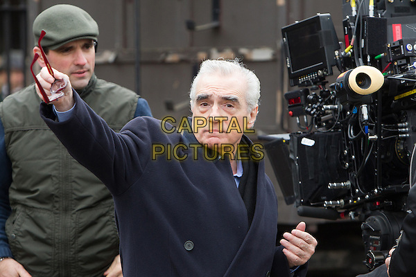 Martin Scorsese, director.on the set of Hugo (The Invention of Hugo Cabret).*Filmstill - Editorial Use Only*.CAP/NFS.Supplied by Capital Pictures.