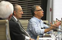 ATENCAO EDITOR: FOTO EMBARGADA PARA VEICULO INTERNACIONAL - SAO PAULO, SP, 10 DEZEMBRO 2012 - A INFLUENCIA DO BRASIL NO SISTEMA INTERNACIONAL SOFT-POWER -  O publicitario Nizan Guanaes participou do debate sobre o soft power. A iniciativa, idealizada em conjunto com a Secretaria de Assuntos Estrategicos (SAE) da Presidencia da Republica, tem como objetivo a atuacao do Brasil no cenario internacional, com vistas a identificar a capacidade de o pais influenciar acoes politicas sem o uso da forca ou outra forma de coercao, porem lançando mao de estrategias de cooperacao - conceito conhecido como soft-power, na FIESP nessa terca, 11. (FOTO: LEVY RIBEIRO / BRAZIL PHOTO PRESS)..