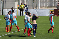 Harvey St Clair of Chelsea and Scotland U21's reacts after having a second half penalty saved during Turkey Under-21 vs Scotland Under-21, Tournoi Maurice Revello Football at Stade Francis Turcan on 9th June 2018
