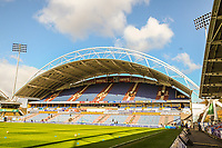 Huddersfield Town's  North stand during the EPL - Premier League match between Huddersfield Town and Crystal Palace at the John Smith's Stadium, Huddersfield, England on 17 March 2018. Photo by Stephen Buckley / PRiME Media Images.