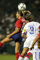 Brandi Chastain, USWNT vs. Costa Rica, September 1, 2003.