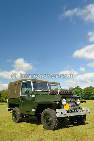 Land Rover Series 2a Lightweight prototype. Dunsfold Collection Open Day 2009. NO RELEASES AVAILABLE.