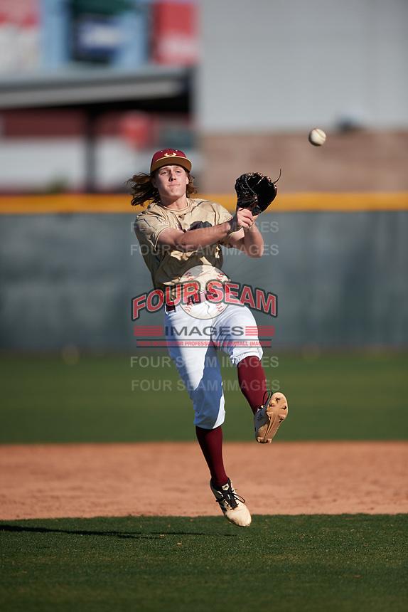 Henry Mitchell during the Under Armour All-America Tournament powered by Baseball Factory on January 19, 2020 at Sloan Park in Mesa, Arizona.  (Zachary Lucy/Four Seam Images)Under Armour All-America Tournament powered by Baseball Factory on January 19, 2020 at Sloan Park in Mesa, Arizona.  (Zachary Lucy/Four Seam Images)