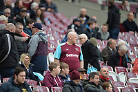 West Ham Fans during West Ham United vs Burnley, Premier League Football at The London Stadium on 10th March 2018