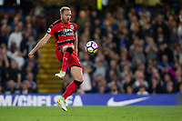 Huddersfield Town's Laurent Depoitre scores the opening goal <br /> <br /> Photographer Craig Mercer/CameraSport<br /> <br /> The Premier League - Chelsea v Huddersfield Town - Wednesday 9th May 2018 - Stamford Bridge - London<br /> <br /> World Copyright &copy; 2018 CameraSport. All rights reserved. 43 Linden Ave. Countesthorpe. Leicester. England. LE8 5PG - Tel: +44 (0) 116 277 4147 - admin@camerasport.com - www.camerasport.com